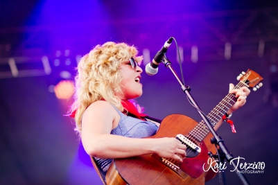 Cary Ann Hearst of Shovels And Rope at Toronto Urban Roots Festival