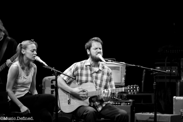 Blake Mills and Fiona Apple at Mayne Stage